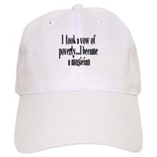 Vow of Poverty Baseball Cap