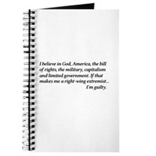 Proud Right Winger Journal