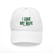 WIFE LETS ME GO HUNTING Baseball Cap