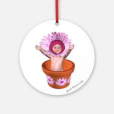 Fae Baby 1 Ornament (Round)