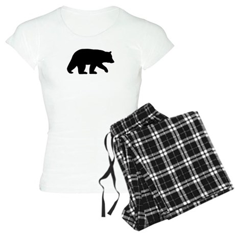 Black Bear Women's Light Pajamas