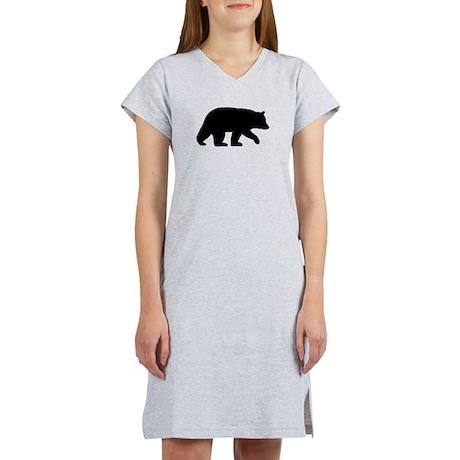Black Bear Women's Nightshirt