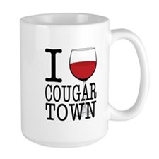 I Wine (Heart) Cougar Town Mug