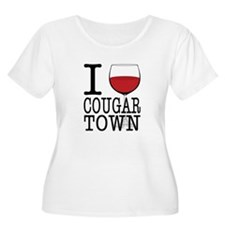 I Wine (Heart) Cougar Town T-Shirt