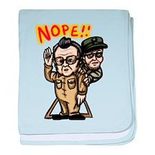 Kim Jong il...NOPE! baby blanket