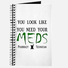 Pharmacy - Need Your Meds Journal
