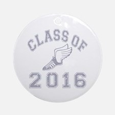 Class of 2016 Track & Field Ornament (Round)