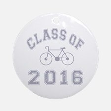 Class Of 2016 Cyclist Ornament (Round)