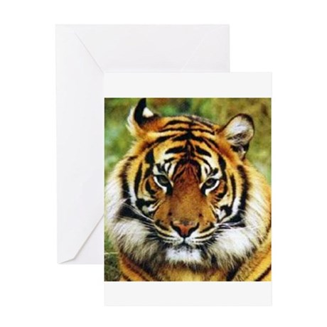 Tiger Photo Greeting Card