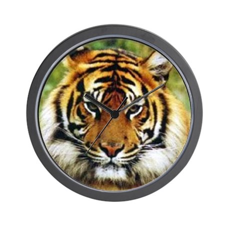 Tiger Photo Wall Clock