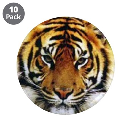 "Tiger Photo 3.5"" Button (10 pack)"