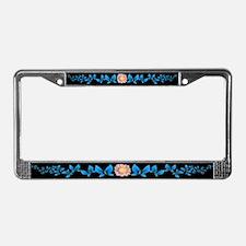 Butterflies License Plate Frame
