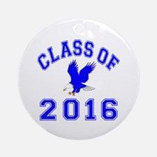 Class Of 2016 Eagle Ornament (Round)