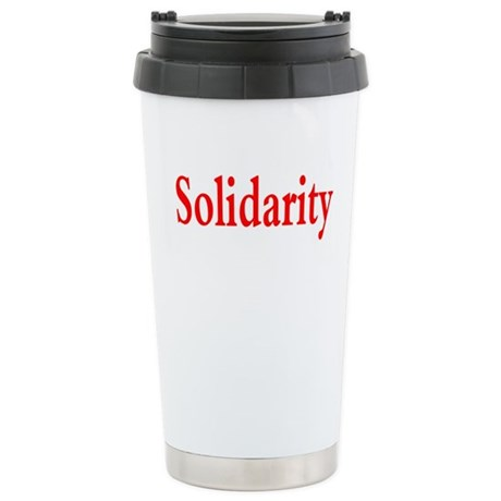 Solidarity Stainless Steel Travel Mug