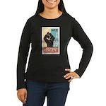 Occupy Poster Women's Long Sleeve Dark T-Shirt