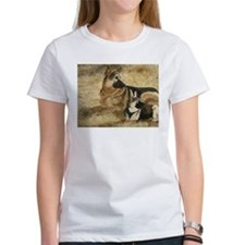German Shepherd with GSD Pupp Tee