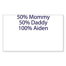 100% Aiden Decal