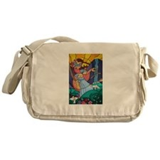 Lady Justice Messenger Bag