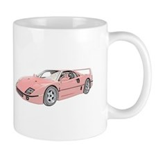 Ferrari F40 Twin Turbo Mug