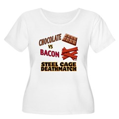 Bacon VS Chocolate T-Shirt