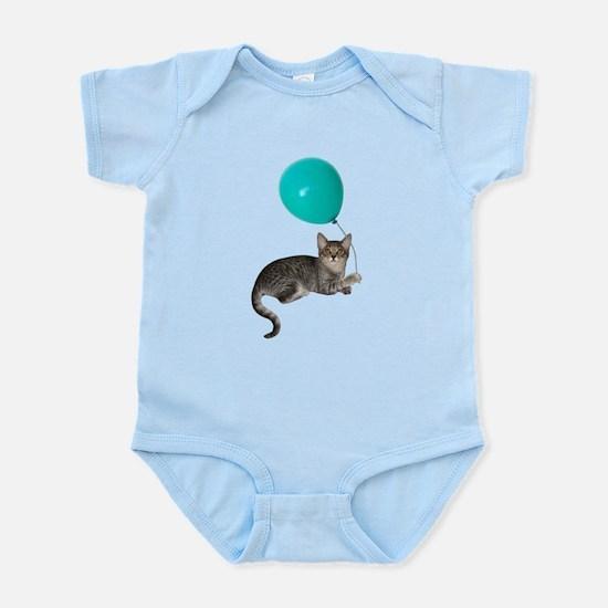 Cat with Ballon Infant Bodysuit