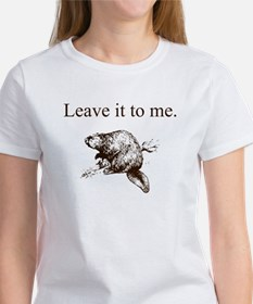 Leave it to beaver - Women's T-Shirt