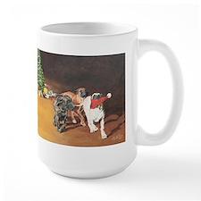 Mastiff Puppy Christmas Mug