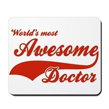 World's Most Awesome Doctor Mousepad