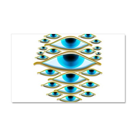 All Seeing Car Magnet 20 x 12