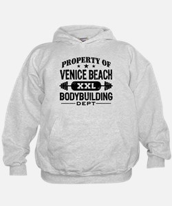 Property Of Venice Beach Bodybuilding Hoodie