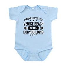 Property Of Venice Beach Bodybuilding Infant Bodys
