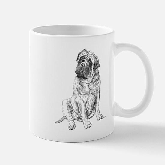 Mastiff Sitting Mug