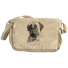 Mastiff Head Messenger Bag