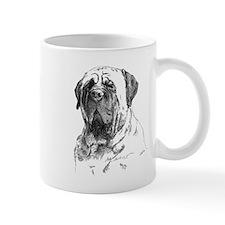 Mastiff Head Mug
