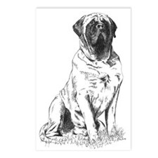 Mastiff Nobility Postcards (Package of 8)
