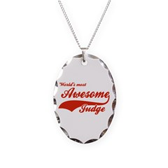 World's Most Awesome Judge Necklace