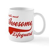 Lifeguard Small Mugs (11 oz)