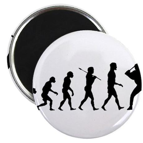 """Baseball Evolution 2.25"""" Magnet (100 pack)"""