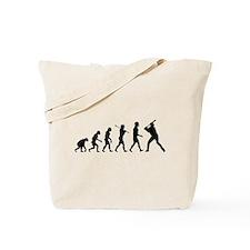 Baseball Evolution Tote Bag