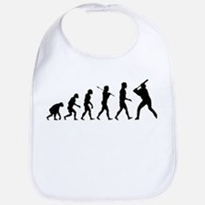 Baseball Evolution Bib