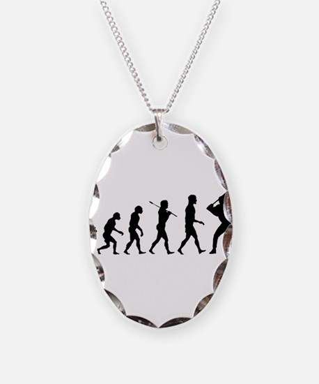 Baseball Evolution Necklace