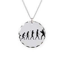 Baseball Evolution Necklace