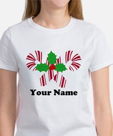 Personalized Candy Canes Tee