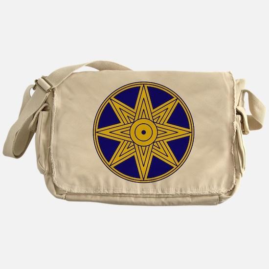 Ishtar Star Icon Messenger Bag