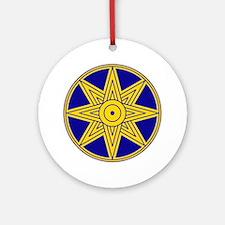 Ishtar Star Icon Ornament (Round)