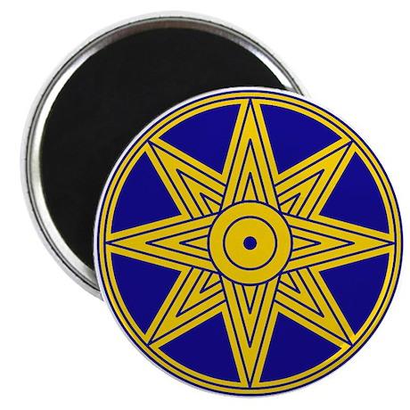 Ishtar Star Icon Magnet
