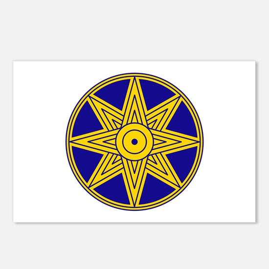 Ishtar Star Icon Postcards (Package of 8)