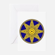 Ishtar Star Icon Greeting Cards (Pk of 20)