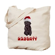 Naughty Affenpinscher Tote Bag