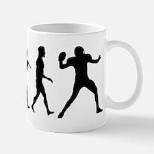 Quarterback Evolution of Foot Mug